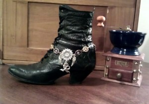 Dress up those Boots or wear it as a necklace