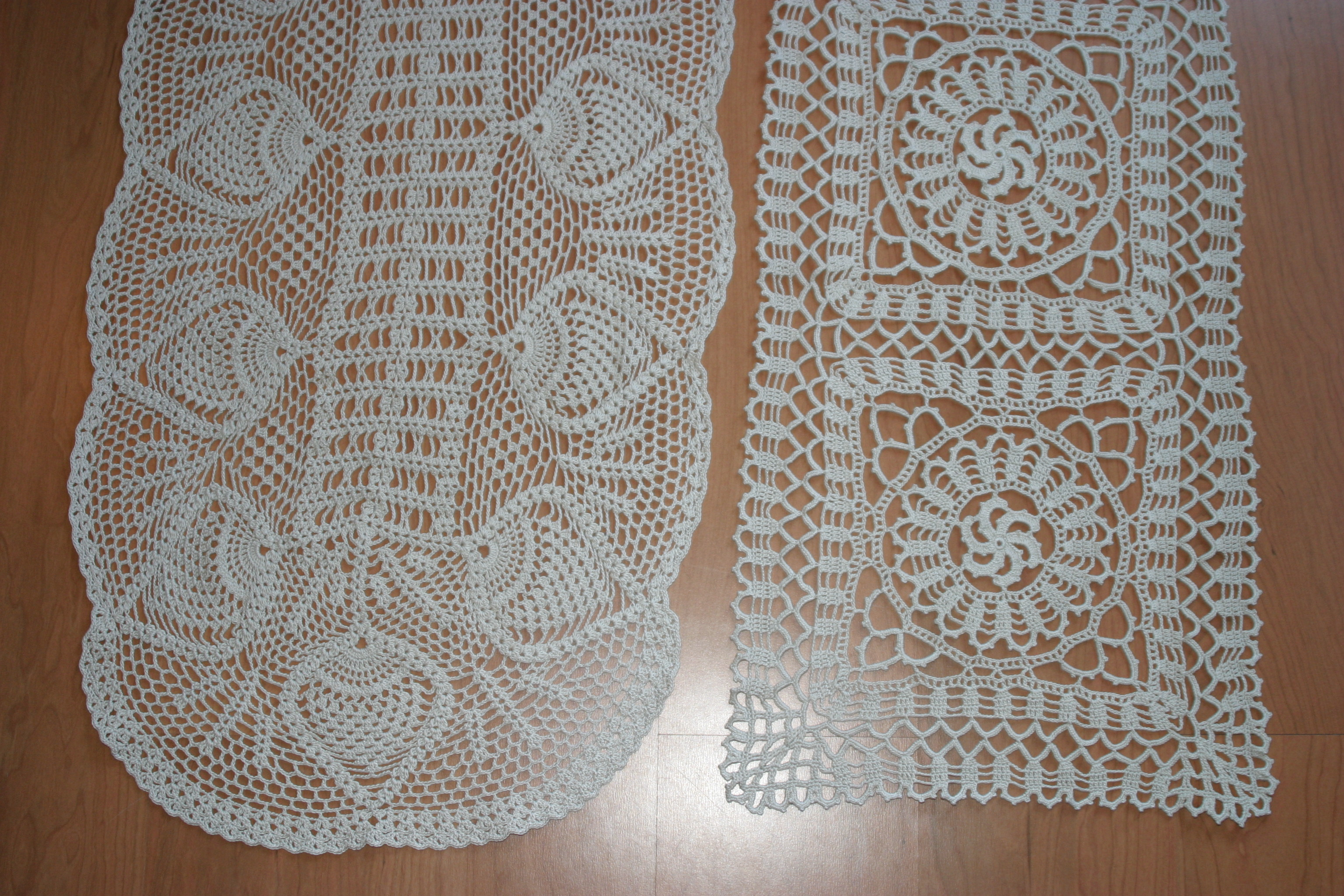 Crocheted Table Runners – Chaordicwear – Up-cycled, One-of-a-kind ...
