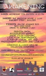 Awakening Event Flyer 1